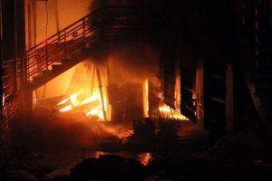 Đồng Nai: Cháy 6 căn nhà trong đêm