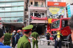 Hà Nội: Nổ bình gas tại ngôi nhà 5 tầng ở phố Cửa Nam, 3 người bị thương