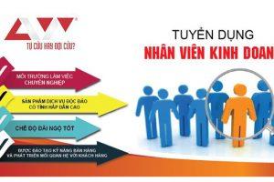 Tuyển dụng nhân viên kinh doanh lĩnh vực PCCC&CNCH