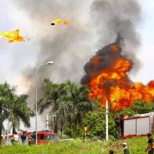 Hà Nội: Cháy nổ kho hóa chất tại Long Biên ngày cuối tháng 6