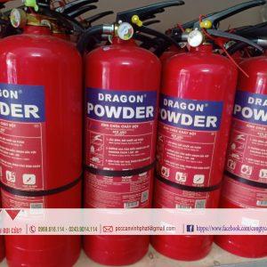Địa chỉ cung cấp Bình chữa cháy Dragon Powder bột ABC 4kg uy tín