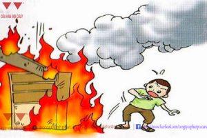 Phòng cháy chữa cháy có gì?