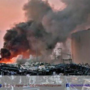 Lebanon: Nổ lớn ở Beirut, hàng nghìn người thương vong