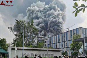 Trung Quốc: Cháy lớn tại phòng nghiên cứu của Huawei khiến 3 người thiệt mạng
