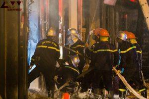 Hà Nội: cháy cửa hàng gas ở Đan Phượng, 5 người được cứu thoát