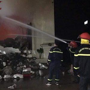 Vĩnh Phúc: Cháy kinh hoàng tại quán bar X5 3 cô gái thiệt mạng